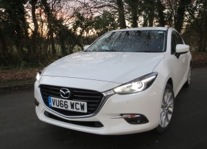Mazda3 2.0 120PS Sport  Nav road test report and review - If it ain't broke . . .