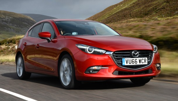 Facelift for Mazda 3 range - road test report review