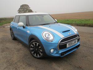 Five doors or three, the Mini is still a fun car to drive.