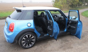 Mini Cooper S 5 door road test report review: Are five doors really better than three?