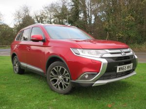The big Mitsubishi is practical, spacious and comfortable on a long trip.