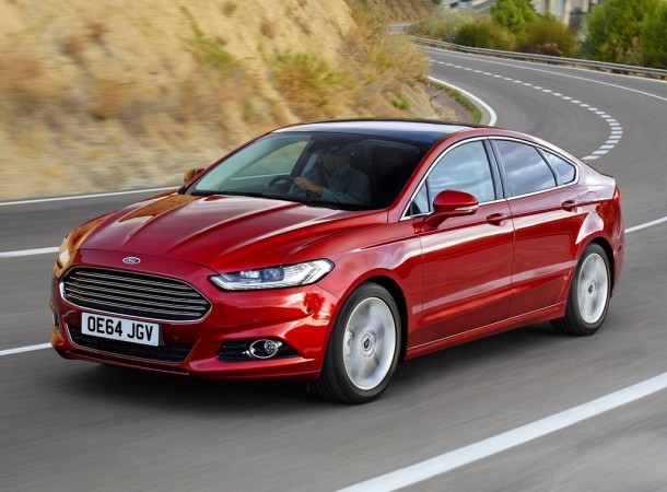 All-new Ford Mondeo.