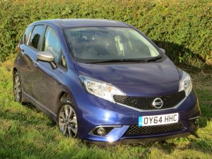 Nissan Note n-tec 1.2 manual road test report and review