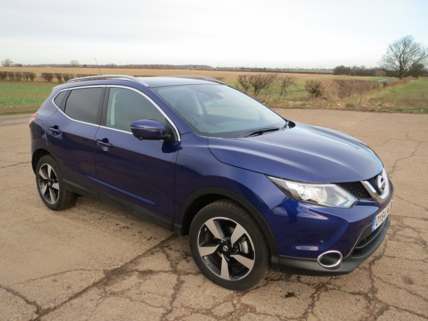 Nissan Qashqai n-tec+ 1.2 DIG-T 115PS road test report and review