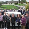 Suzuki Ignis wins Northern Group's Car of the Year Award - Julie Marshall, chair of the Northern Group, presents the miner's lamp to Alun Parry. Also pictured are members of the Northern Group.