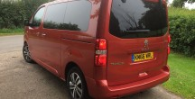 Peugeot Traveller Allure STD BlueHDi 180 road test report and review