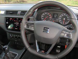 SEAT Arona 1.5 TSI roadtest report review interior