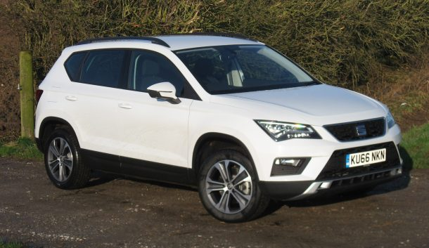 SEAT Ateca SE 1.0 TSI Ecomotive 115 PS 6-speed road test report and review