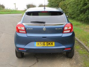Suzuki Baleno 1.0 Boosterjet SZ5 road test report and review (2)