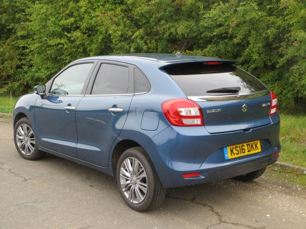 Suzuki Baleno 1.0 Boosterjet SZ5 road test report and review: A good drive and great economy.