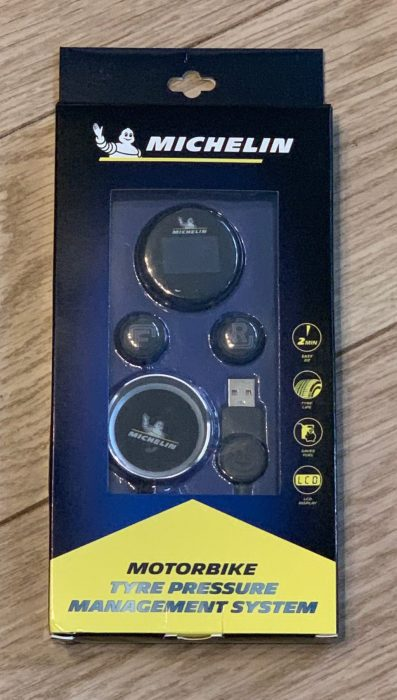 Michelin Tyre Pressure Monitoring System for bikes