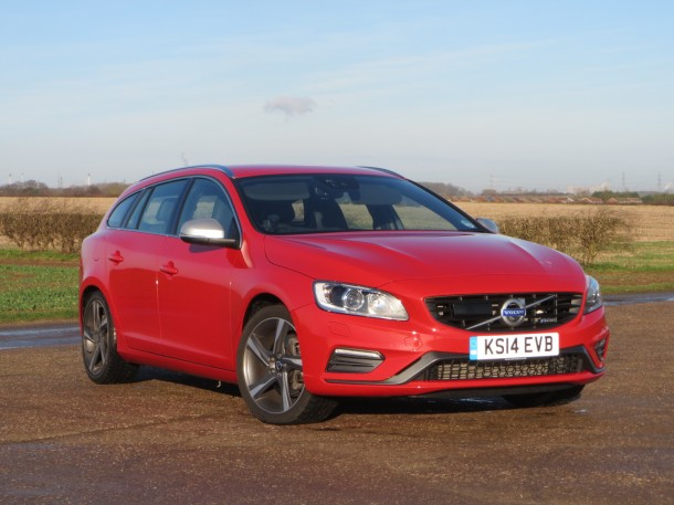 Volvo V60 D5 R-Design Lux Nav 215PS Start/Stop road test report and review