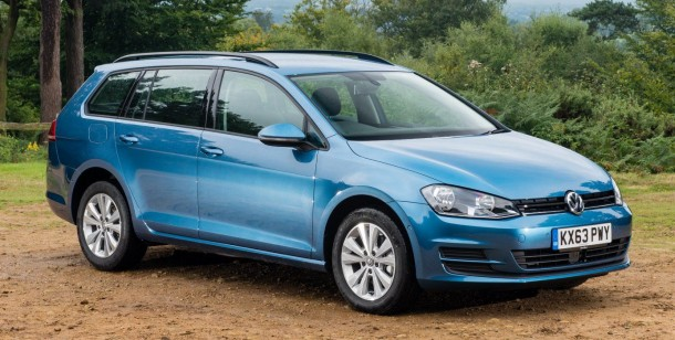 VW Golf Estate SE 1.6 TDI BlueMotion road test report and review