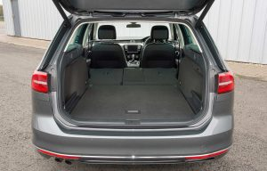 VW Passat Estate boot