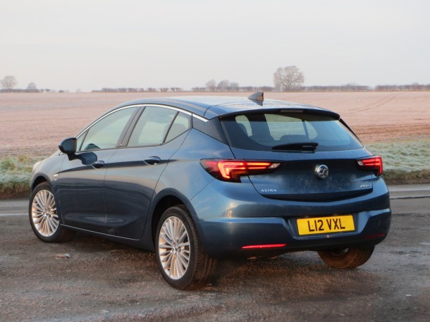 Vauxhall Astra Elite Nav 1.4i 150PS Turbo road test report review: