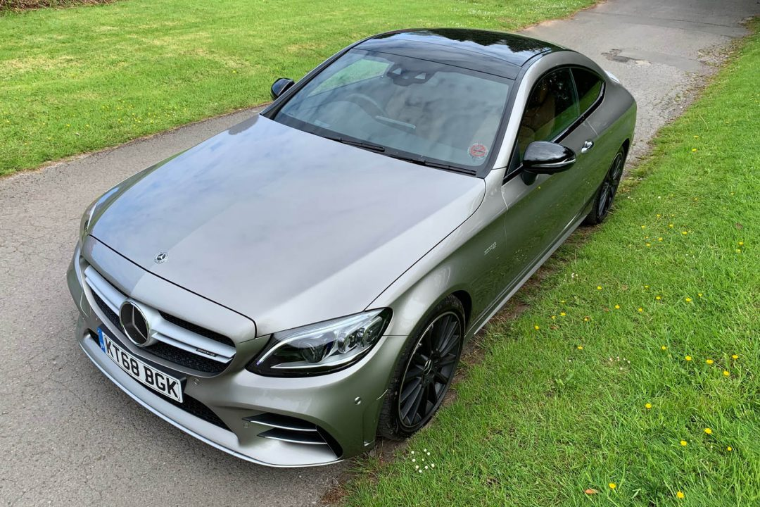 Mercedes AMG C43 Coupe road test review