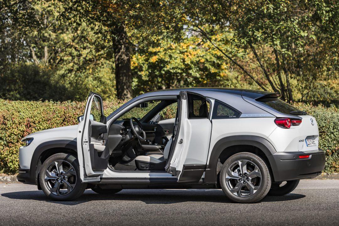 Mazda's electric SUV