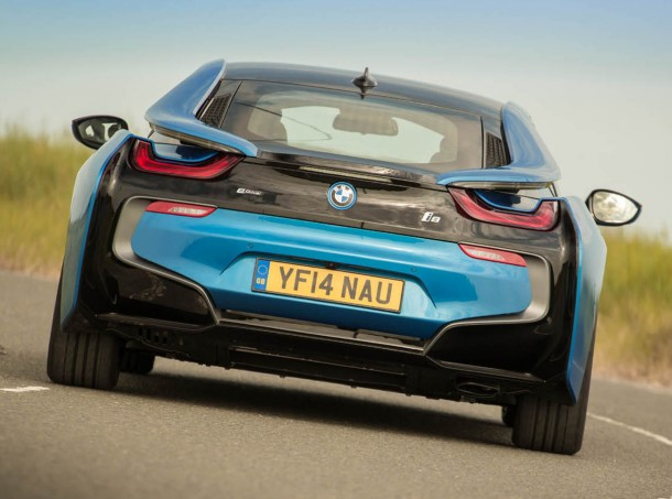 Electric BMW i8 named UK Car of the Year