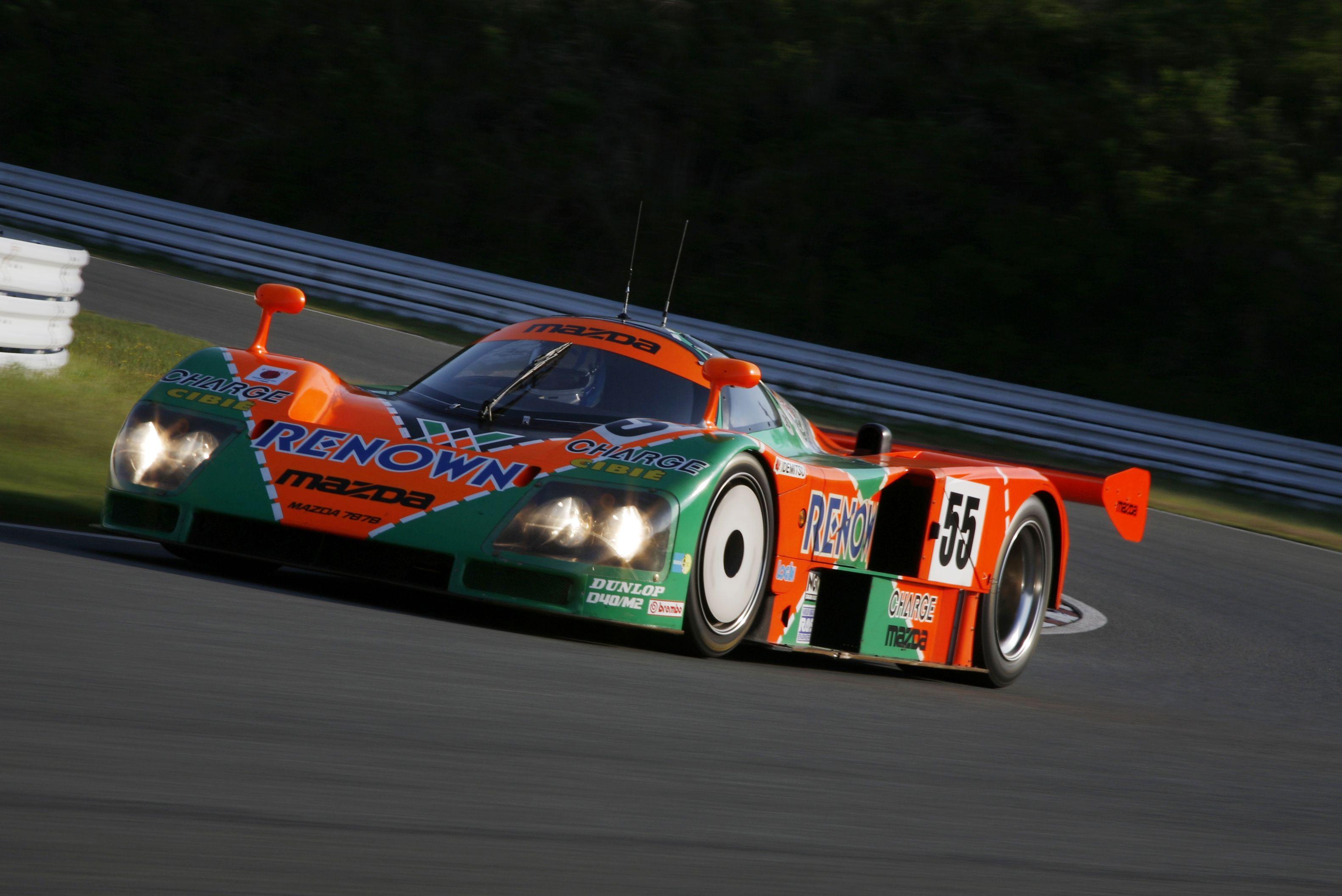 Mazda's 1991 Le Mans-winning