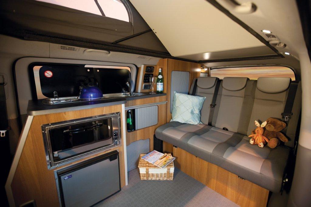 Hyundai I800 Campervan Achieves Double Delight Wheel