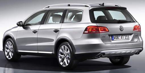 The rear of the Alltrack