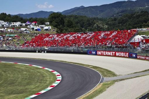 Ducati grandstand