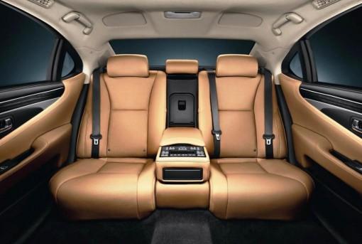 Rear seats.