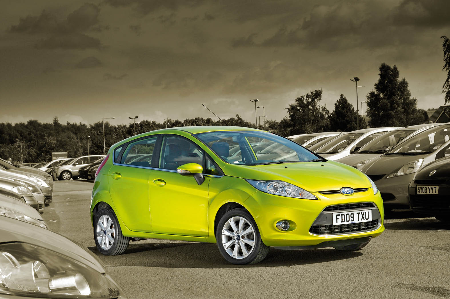 Ford Fiesta Is Named The Top Used Car Of 2012