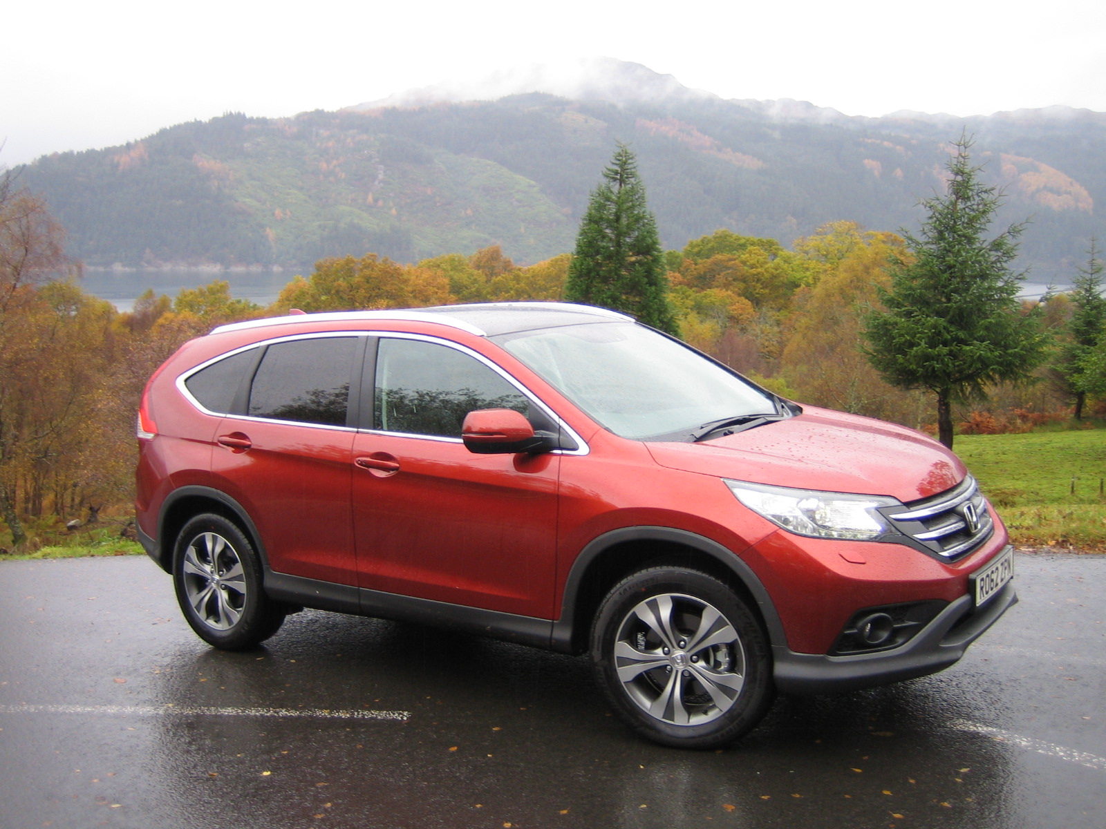 Road test and review the new honda cr v range wheel for Where is the honda cr v built