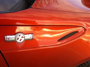The Toyota GT86 logo is difficult to decipher.