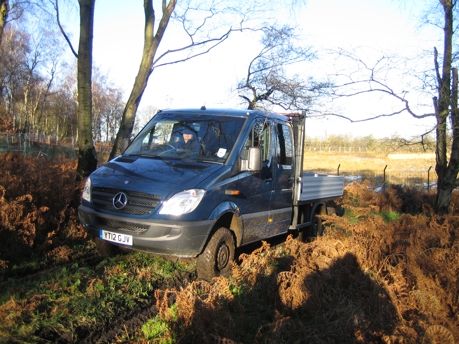 Mercedes benz sprinter 316 4x4 crew cab will get to where for The biggest mercedes benz