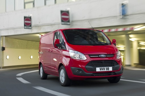 The Ford Transit  Custom Van has been named Van of the Year 2013.