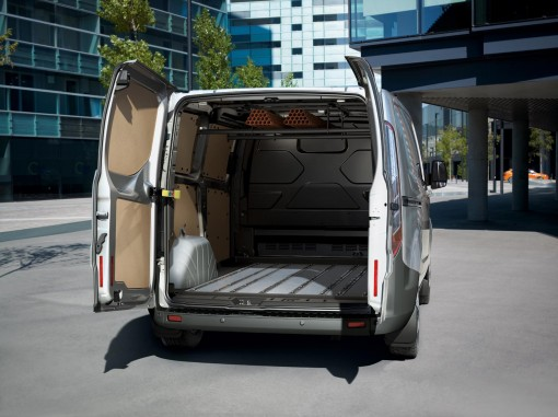 Tansit Custom Van interior