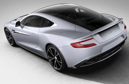 Aston Martin Vanquish Centenary Edition rear