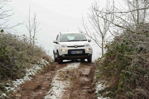 Fiat Panda 4x4 descent