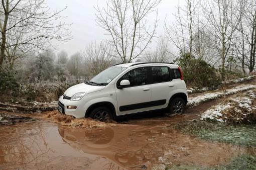 Fiat Panda 4x4 wading