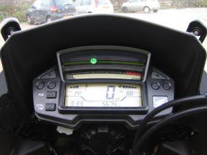 Honda Crosstourer 1200cc V4 dash