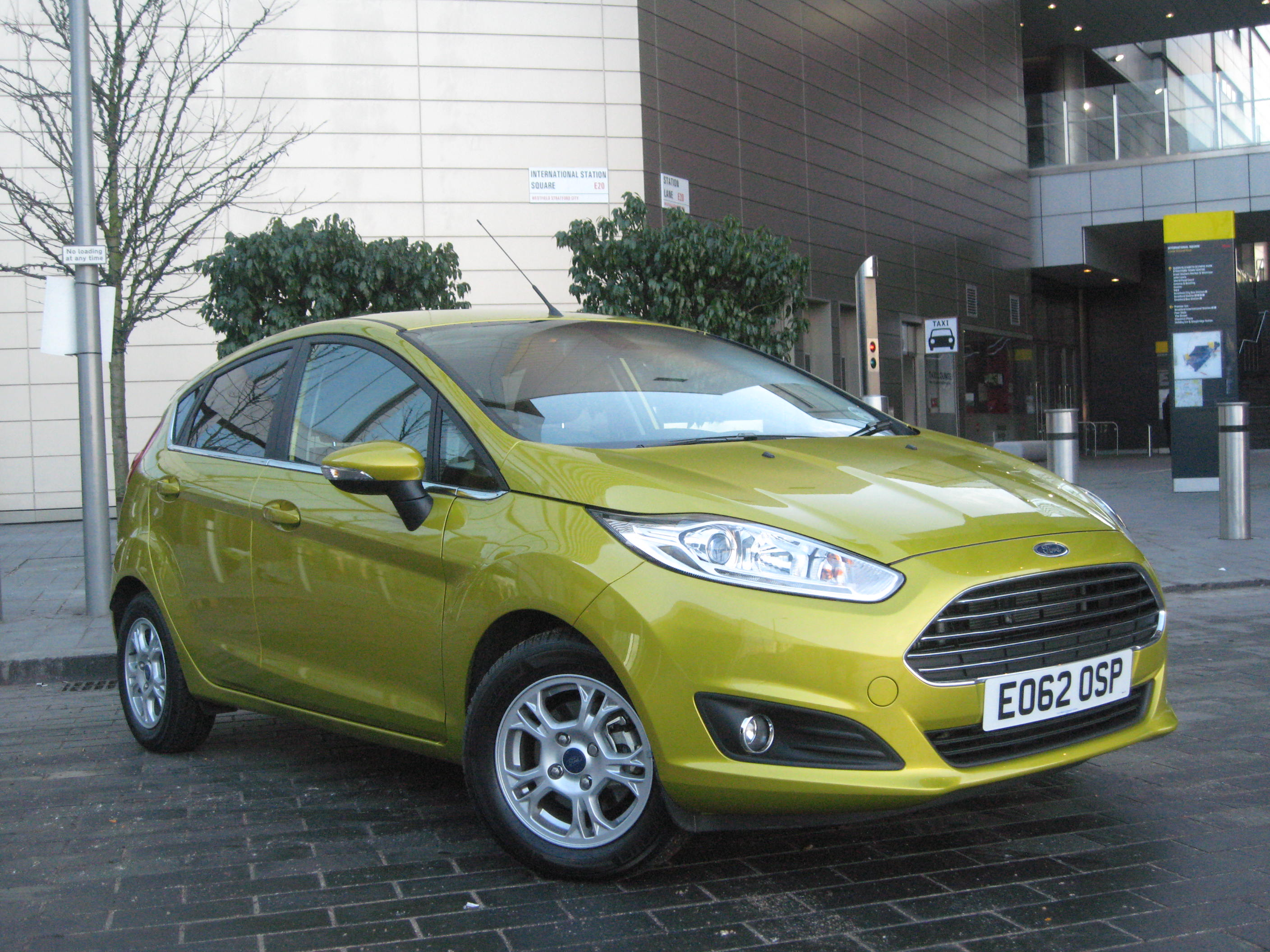 new ford fiesta review reveals some clever technology road test. Black Bedroom Furniture Sets. Home Design Ideas