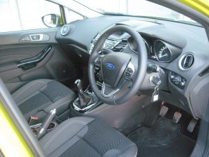 New Ford Fiesta interior
