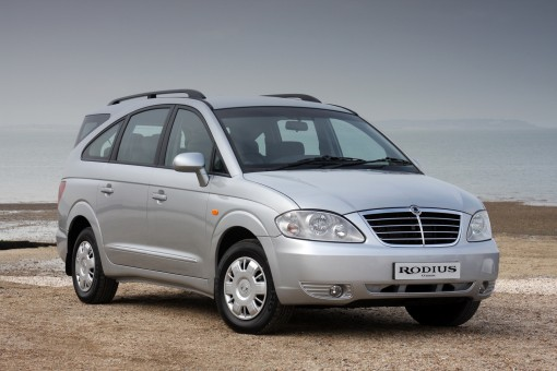 Used seven-seat Ssangyong Rodius