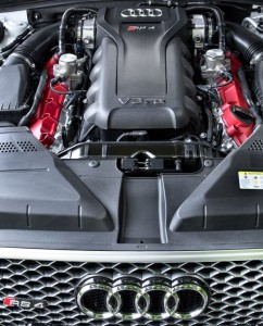 The new Audi RS 4 Avant engine