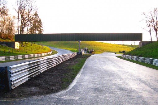 New footbridge set to transform spectator access at Cadwell Park
