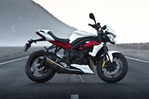 The new Triumph Street Triple R.