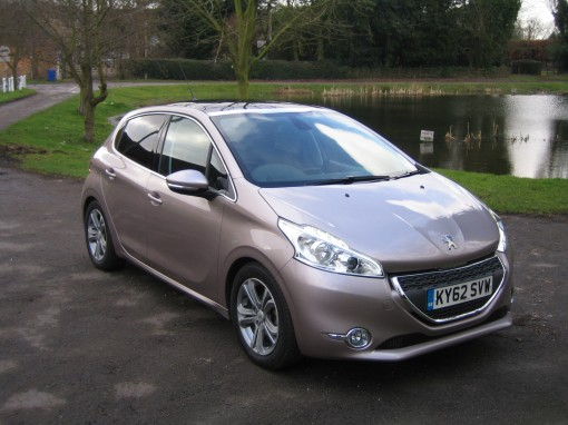 peugeot 208 allure gives good fuel economy and a comfortable drive. Black Bedroom Furniture Sets. Home Design Ideas