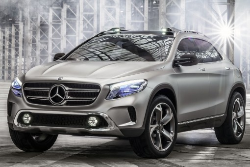 Mercedes Benz GLA Showcar; 2013