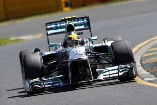 Mercedes F1 2013 Hamilton wwr