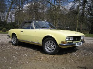 NGMW 40TH Peugeot 504 Convertible