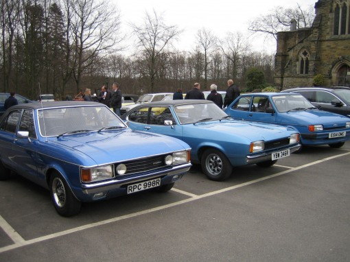 NGMW 40TH Ford Granada and Capri