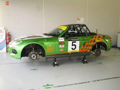 Mazda MX-5 Britcar Silverstone JotaSport