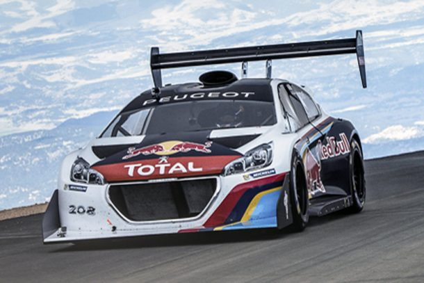 Sebastian Loeb shattered the Pikes Peak Hill Climb record.